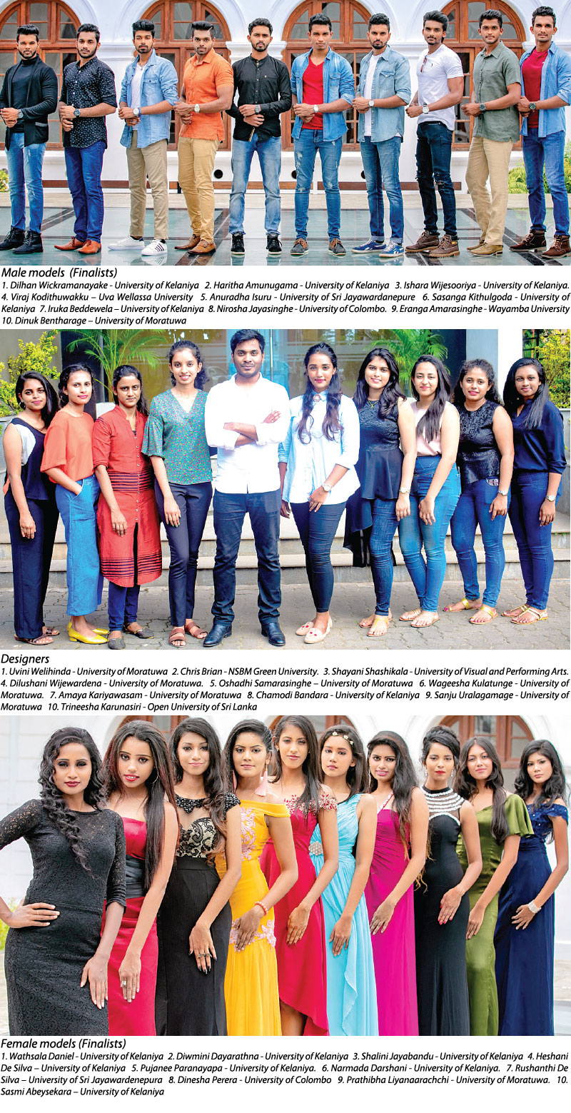 Inter University Fashion Show By The University Of Kelaniya Sunday Observer