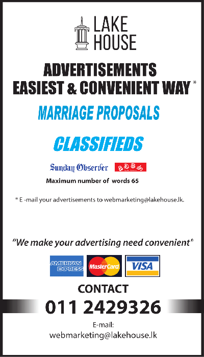 Marriage Proposals | Sunday Observer