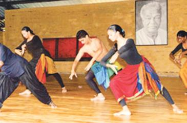 Practice sessions at the Chitrasena School of Dance Pix: Chinthaka Kumarasinghe