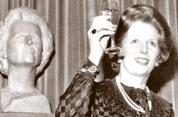 Baroness Thatcher has entered the Oxford Dictionary of National Biography
