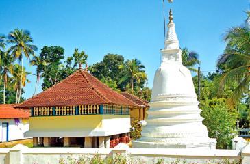 Exterior view of Maduwanwela Sri Mudalindaramaya
