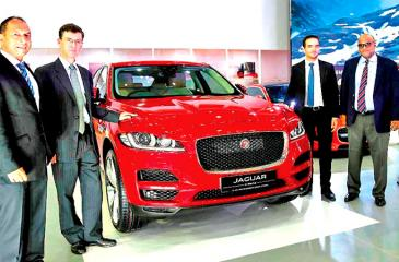 The Jaguar Land Rover (JLR) took centre stage at Sri Lanka's largest automotive event, the CMTA MOTORSHOW 2017. Reinforcing the brand's commitment to product development, Jaguar Land Rover, the UK's leading manufacturer of premium vehicles showcased its breakthrough Jaguar F Pace and Land Rover Range Rover Sport model.