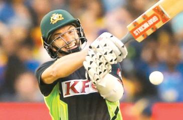 Late-age debutant Michael Klinger looked at ease but needs to turn starts into big scores. Photo: Getty Images