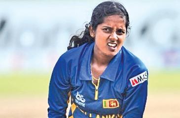 Sri Lanka  women's captain Inoka Ranaweera.