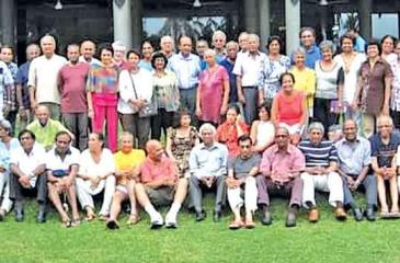 Forty- fifth Anniversary get-together at Chaya Trans Hikkaduwa in 2012