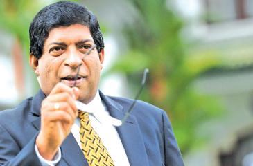 Minister of Finance  Ravi Karunanayake