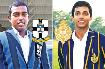 Romesh  Nallaperuma (Captain STC) and Helitha  Vithanage (Captain RC)