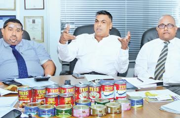 Officials of the Canned Fish Manufacturers Association