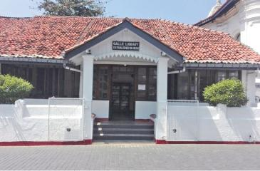 Restored Galle Library