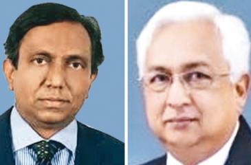P. Algama and Nihal  Wickremasuriya