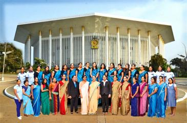 Participants at BMICH's International Women's Day program