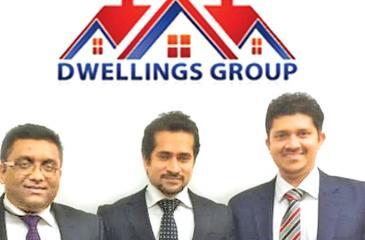 From left:  Directors of the Dwellings Group, Sanjika Abeyratna, Theekshana Somaratna and Navin de Silva.