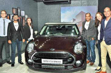 The new Mini Clubman  Picture by Thushara Fernando