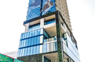 Wallspan recently completed the country's tallest vertical garden at the five-star Movenpick city hotel with more than 33,000 plants.