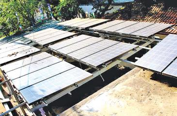 One of the items under the loan scheme is to assist households install domestic solar power generating units. PIC: LAKE HOUSE MEDIA LIBRARY