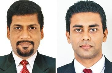 Dr. Iraivan Thiyagarajah and Charitha Jayasingha