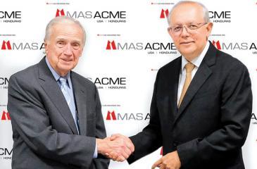 Chairman of Acme McCrary Bill Redding and Chairman, MAS Holdings, Mahesh Amalean.
