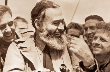 """Classified KGB document reportedly revealed Hemingway was given  the codename """"Argo"""" and was recruited by Jacob Golos, a top official  in New York - Getty Images"""