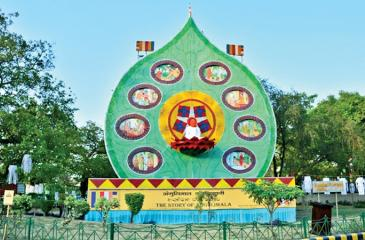 The 40 feet high Pandal