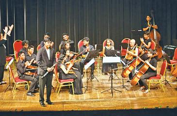 The Junior Symphony Orchestra