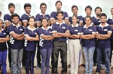 Moratuwa University undergraduates who completed the LEaD program conducted by Unilever Sri Lanka.