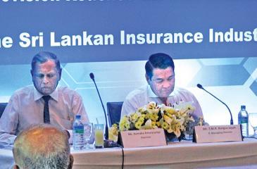 Chairman Hemaka Amarasuriya and Joint Managing Director T. M. R.  Bangsa Jayah