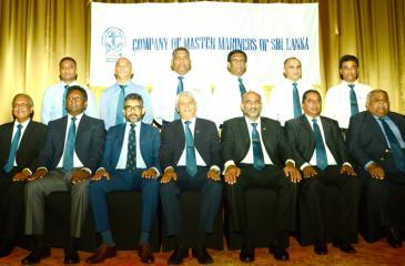 The new council members: Seated (from left): Capt. D.. J. Amarasuriya (Editor), Capt. Uditha Karunathilake (Treasurer), Capt. Rohan Codipilly (Vice President), Capt. Palitha de Lanerolle (President), Capt. Nirmal Silva (Imm Past President), Capt. Mahendra Ranatunga (Vice President) and Capt. Rohith Fernando (Secretary). Standing L-R: Capt. Yasas Sanjeewa, Capt. Harsha Perera, Capt. Upul Peiris, Capt. Tilak Wickramasinghe, Capt. Mahes Kuruppu and Capt. Sanjeewa Usgoda Arachchi. Absent: Capt. Sampath Athukora