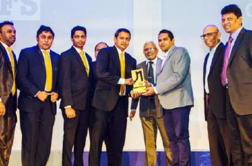 The LAUGFS Holdings Group IT team receive the award.