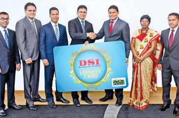 From left:  Chandana Paththinige -Manager - New Business Development, Dialog Axiata PLC  Chinthana Jayasekara -  Head of Group Business Development, New Business Development, Dialog Axiata PLC  Asanga Priyadarshana - Head of Business - Mobile Telecommunications, Dialog Axiata PLC  Supun Weerasinghe - Director / Group Chief Executive, Dialog Axiata PLC  Thusitha Rajapaksa – Managing Director, D.Samson & Sons (Pvt)Ltd  Kaushalya Perera - Director, D.Samson & Sons (Pvt)Ltd  Upendra Gunawardhana – Senior Manage