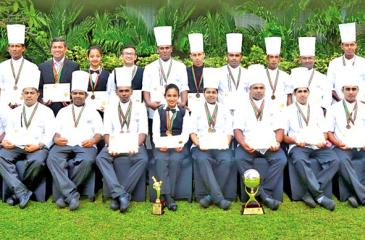 The Cinnamon Lakeside Team with their accolades