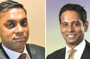 DGM Corporate Banking, Ruwan Manatunga and  Head of Project Financing Business, HNB, Majella Rodrigo