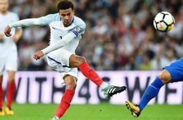 Dele Alli was caught making an obscene gesture during an England match