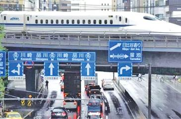Japan is a pioneer in high-speed rail transport