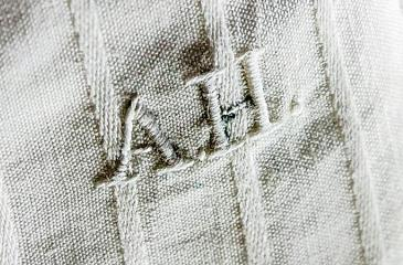 The monogrammed undergarment was allegedly left at an Austrian hotel in 1938. Pic / Alexander Historical Auctions