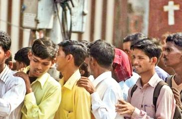 Some 26 million Indians are looking for regular work