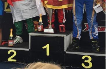 Winner Eshan Pieris with runners up Senna SN and Prassetyo    Hardja