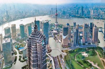 How Shanghai would look with a rise of just 2C: the UN warned this week of a potential 3C scenario.                   Pic: Nickolay Lamm/Courtesy Climate Central