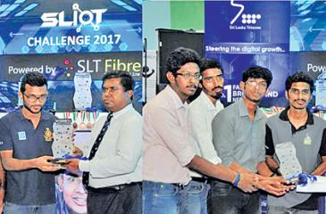 Left: The winners of the undergraduate category - 'ASDF'. Right: Winners of the open category - 'Zeon'