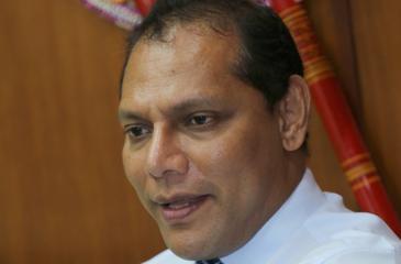 Minister Dayasiri Jayasekera