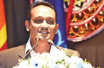 CEO/ED of SLIM, Sanath Senanayake