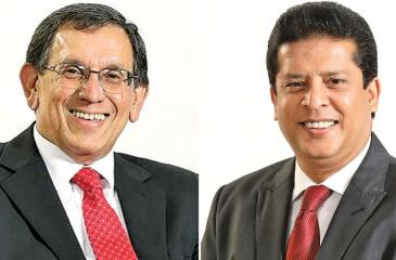Royle Jansz and Lashman Silva