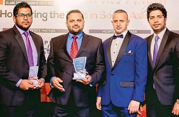 NDB Shareek team (from left) Rikfkan, Fariz, Aslam and Mufthi