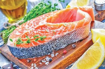Pregnant women are usually advised to steer clear of oily fish amid fears the build-up    of mercury can damage the brain of babies in the womb