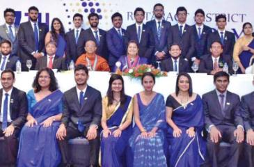 District Rotaract Committee for the year 2017
