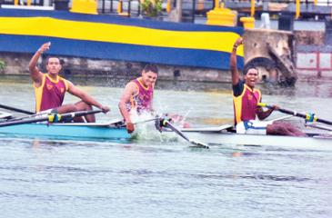 Ananda Under 18 Rowers celebrate victory