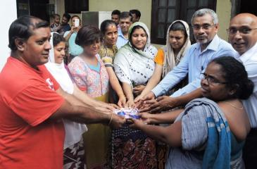 Handing over communal toilets to CBO