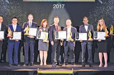 Tushan Wickramasinghe, Chairman Capital Trust Holdings Limited among winners of Best Condo in countries in Asia