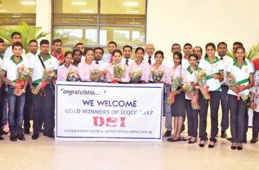The DSI Samson Group team