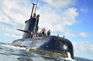 The vessel is the newest of the three submarines in the Argentine navy's fleet