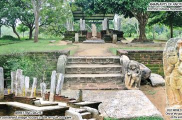 With excavations in Ramba Vihara off Embilipitiya being carried out by the Central Cultural Fund (CCF), we visited the site of many historical finds where a unique symbiosis exists between Nature and history.